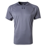 Under Armour HeatGear Flyweight T-Shirt (Gray)