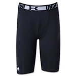 Under Armour Youth Heatgear Sonic Fitted Short (Blk/Wht)