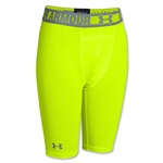 Under Armour Youth Heatgear Sonic Fitted Short (Neon Green)