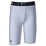 Under Armour Youth Heatgear Sonic Fitted Short (Wh/Bk)