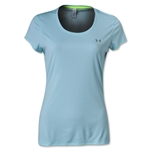 Under Armour Women's HeatGear Flyweight T-Shirt (Aqua)