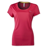 Under Armour Women's HeatGear Flyweight T-Shirt (Pink)