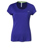 Under Armour Women's HeatGear Flyweight T-Shirt (Purple)