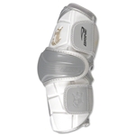 Brine King Lacrosse Arm Guard-Large (White)