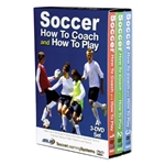 Soccer How to Coach & How to Play 3 DVD Box Set