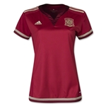 Spain 2015 Women's Home Soccer Jersey