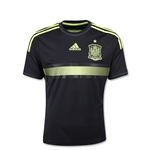 Spain 14/15 Youth Away Soccer Jersey