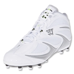 Warrior Burn-Speed 3.0 Lacrosse Cleats (Mid White-Regular