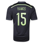 Spain 2014 RAMOS Away Soccer Jersey