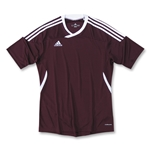 adidas Tiro II Women's Soccer Jersey (marroon)