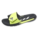 adidas Predator Slide Sandal (Dark Grey/Light Flash Yellow)