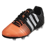 adidas Nitrocharge 1.0 FG Junior (Core Black/White/Flash Orange)