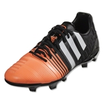 adidas Nitrocharge 2.0 FG (Core Black/White/Flash Orange)