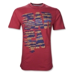 Barcelona 2011 Core T-Shirt (Red)