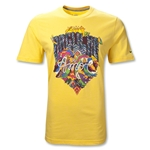 Brazil 2011 Core Cotton T-Shirt (Yellow)