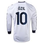 Real Madrid 12/13 OZIL LS Home Soccer Jersey