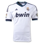 Real Madrid 12/13 Youth Home Soccer Jersey