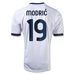 Real Madrid 12/13 MODRIC Youth Home Soccer Jersey