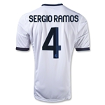 Real Madrid 12/13 SERGIO RAMOS Youth Home Soccer Jersey