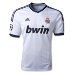 Real Madrid 12/13 UCL Jersey de Futbol Local
