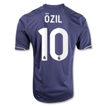 Real Madrid 12/13 OZIL Youth Away Soccer Jersey