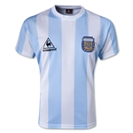 Argentina 1986 Retro Home Soccer Jersey