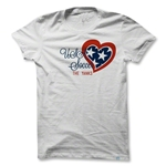 Objectivo Women's USA Heart Soccer T-Shirt (White)