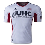 New England Revolution 2014 Authentic Secondary Soccer Jersey