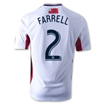 New England Revolution 2014 FARRELL Authentic Secondary Soccer Jersey