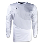 Nike Long Sleeve Park IV Goalkeeper Jersey (White)