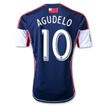 New England Revolution 2013 AGUDELO Primary Soccer Jersey