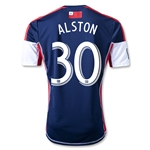 New England Revolution 2013 ALSTON Primary Soccer Jersey