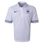 France 12/13 Away Soccer Jersey
