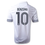 France 12/13 BENZEMA Away Soccer Jersey