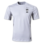 StandUp Nike Hypercool Fitted Top (White/Grey)