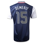 USA 12/13 DEMERIT Away Soccer Jersey