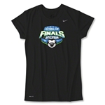 US Club Soccer Final Women's Poly Top (Black)