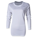 Nike Women's LS Legend Shirt (White)