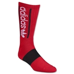 adidas Originals Heritage Crew Sock (Red/Blk)