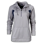 Nike Women's Core Fleece 1/4 Zip (Sv/Nv)