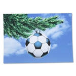 Soccer Ornament Card-Spanish