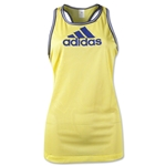 adidas Women's Varsity Tank (Yellow)