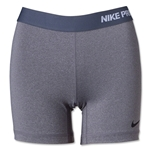 Nike Women's Pro 5 Compression Short II (Sv/Bk)