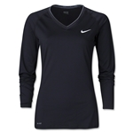Nike Women's Pro Long Sleeve T-Shirt (Blk/Wht)