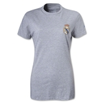 Real Madrid Women's Small Logo T-Shirt