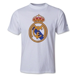 Real Madrid Youth Big Logo T-Shirt
