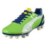 PUMA evoSPEED 3 FG (Jasmine Green/White/Monaco Blue/Fluo Yellow)