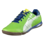 PUMA evoSPEED 1 Sala (Jasmine Green/White/Monaco Blue/Fluo Yellow)
