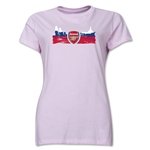 Arsenal Skyline Women's T-Shirt (Pink)