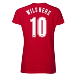 Arsenal Wilshere 10 Women's T-Shirt (Red)